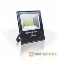 Прожектор светодиодный уличный Евросвет 100W 5500Lm SMD Eco ES-100-01 6400К