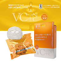 "JAPAN GALS  ""VC+nanoC "" Маска c нано-коллагеном  и  витамином С 30 шт."