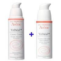 AVENE Ystheal (Авен Истеаль) Набор - Крем + средство для кожи вокруг глаз
