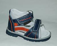 Детская обувь босоножки Kellaifeng (KLF) арт.315 синий (Размеры: 21-26)