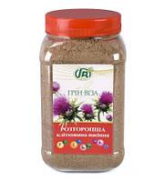 """Натуральная клетчатка """"Семена расторопши""""-для здоровья печени (300гр.,Гринвиза)"""