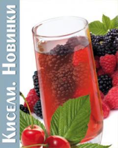 """Натуральный кисель""""Черника - Ежевика на фруктозе-низкокалорийный напиток для худеющих (300гр)"""