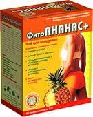 """Чай для похудения """"Ананас плюс помогает сжигать жиры, поступающие с едой(20 пак.,Украина)"""