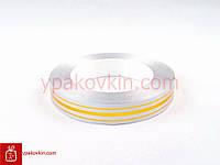 Лента для подарков и цветов 2/50 - Серебро