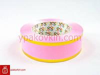 Лента для цветов и подарков 4/50 - Розовая