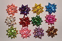 Подарочный бант Звезда №2 полоса