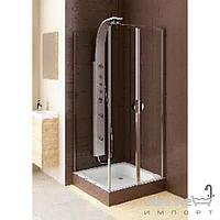 Душевые кабины, двери и шторки для ванн Aquaform Душевые маятниковые двери Aquaform Glass 5 103-06357 со стенкой 103-06383