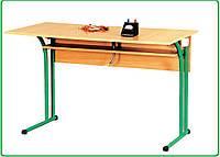 Стол лабораторный, физический (покрытие пластик)
