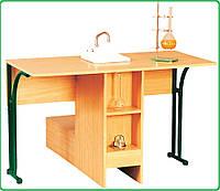 Стол лабораторный, химический с мойкой (покрытие-пластик), фото 1