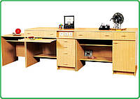 Комплект столов демонстрационных физика №1 (с резетками)