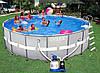 Надувной или каркасный бассейн Intex