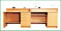 Комплект столов №1 демонстрационных химия( с мойкой) без резеток