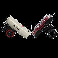 Велосипедный светодиодный набор Dunlop : передняя фара и задний фонарь