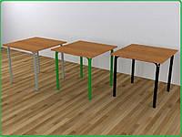Стол для столовой квадратный 4-х местный