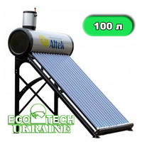 Солнечный безнапорный коллектор Altek SD-T2-10 (100 л в сутки) сезонный
