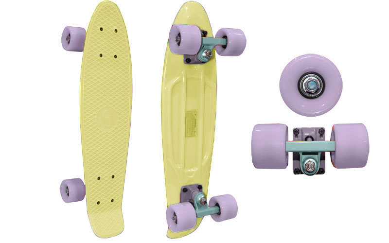 Скейтборд Penny Board ORIGINAL FISH Pastel SK-401-11