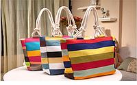 Яркая женская сумка из натуральной ткани. Пляжная сумка. Сумка оригинальная. Высокое качество. Код: КД110