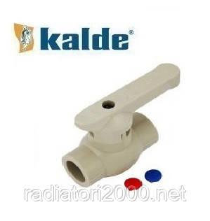 Кран Kalde 32 шаровый полипропиленовый