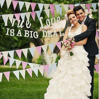 Свадебные гирлянды