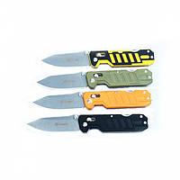 Нож Ganzo G735 (Axis lock) (черный, зеленый, оранжевый, черно-желтый)