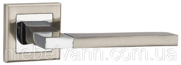 Ручка раздельная PUNTO TECH QL SN/CP-3 матовый никель/хром