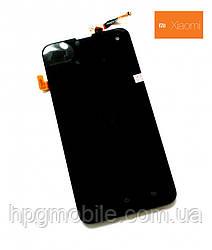Дисплейный модуль (дисплей + сенсор) для Xiaomi mi2a, черный, оригинал