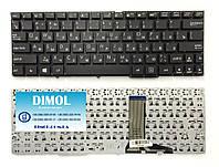 Оригинальная клавиатура для ноутбука Asus T100 rus, black