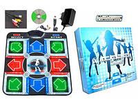 Музыкальный танцевальный коврик X-treme Dance Pad Platinum (dance mat) с USB переходником, Дэнс Мэт