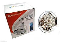 Светодиодная энергосберегающая лампа с аккумулятором Kamisafe KM-5607A на 25 LED диодов (КамиСейф КМ 5607 А)