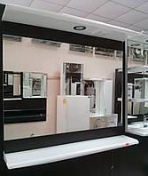 Зеркало в ванную ВР З-06  Николь 80 см (венге)
