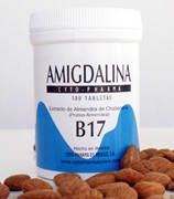 Амигдалин, Мексика, Витамин В-17 (500мг), B-17, 60 табл.