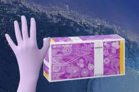 Перчатки латексные неопудренные Akzenta Latex Purple