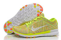Кроссовки Nike Free TR Fit Flyknit Yellow-Green