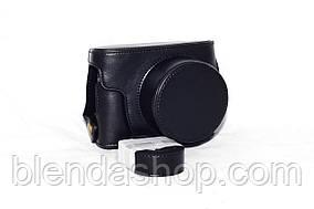 Защитный футляр - чехол для фотоаппаратов CANON G1X II - черный