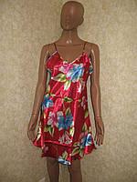 Комплект: халат + ночная рубашка, размер XL (48-50)