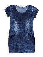 Джинсовый Сарафан платье женское