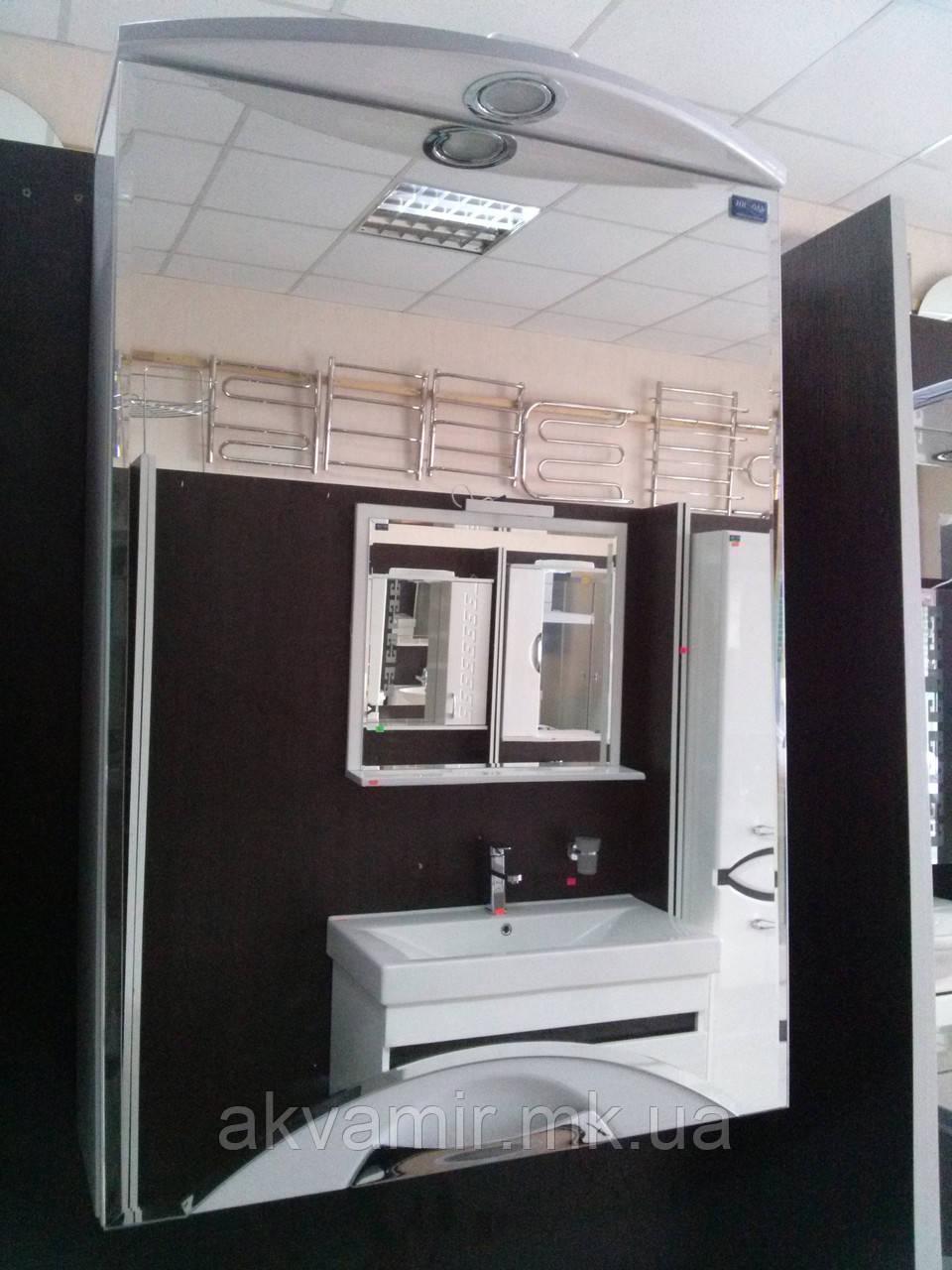 Зеркало в ванную З-55 ВР Николь 55 см