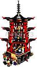 Конструктор Bela 10427 аналог ( LEGO Ninjago 70751) Лего Ниндзяго Храм Аэроджитцу, фото 3