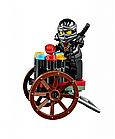 Конструктор Bela 10427 аналог ( LEGO Ninjago 70751) Лего Ниндзяго Храм Аэроджитцу, фото 4