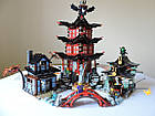 Конструктор Bela 10427 аналог ( LEGO Ninjago 70751) Лего Ниндзяго Храм Аэроджитцу, фото 7