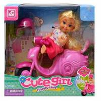 Кукла с велосипедом К899-23