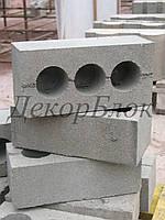 Кирпич рядовой 250х80х120 полуторный, фото 1