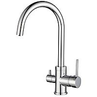 AquaSanita Sabiaduo 2963 chrome комбинированный кухонный смеситель