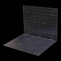Мини стол однотонный  35см Powerlux