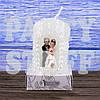 Свеча свадебная Семейный очаг Белая 5 см х 8 см