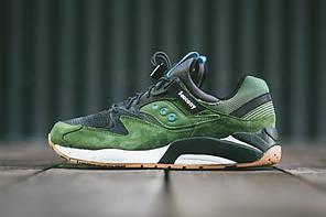 Мужские кроссовки Saucony Grid 9000 Green Black