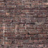 Фотофон плитка Savage - старый кирпич - 1,52x2,13м - Grunge Brick Floor Drop Savage