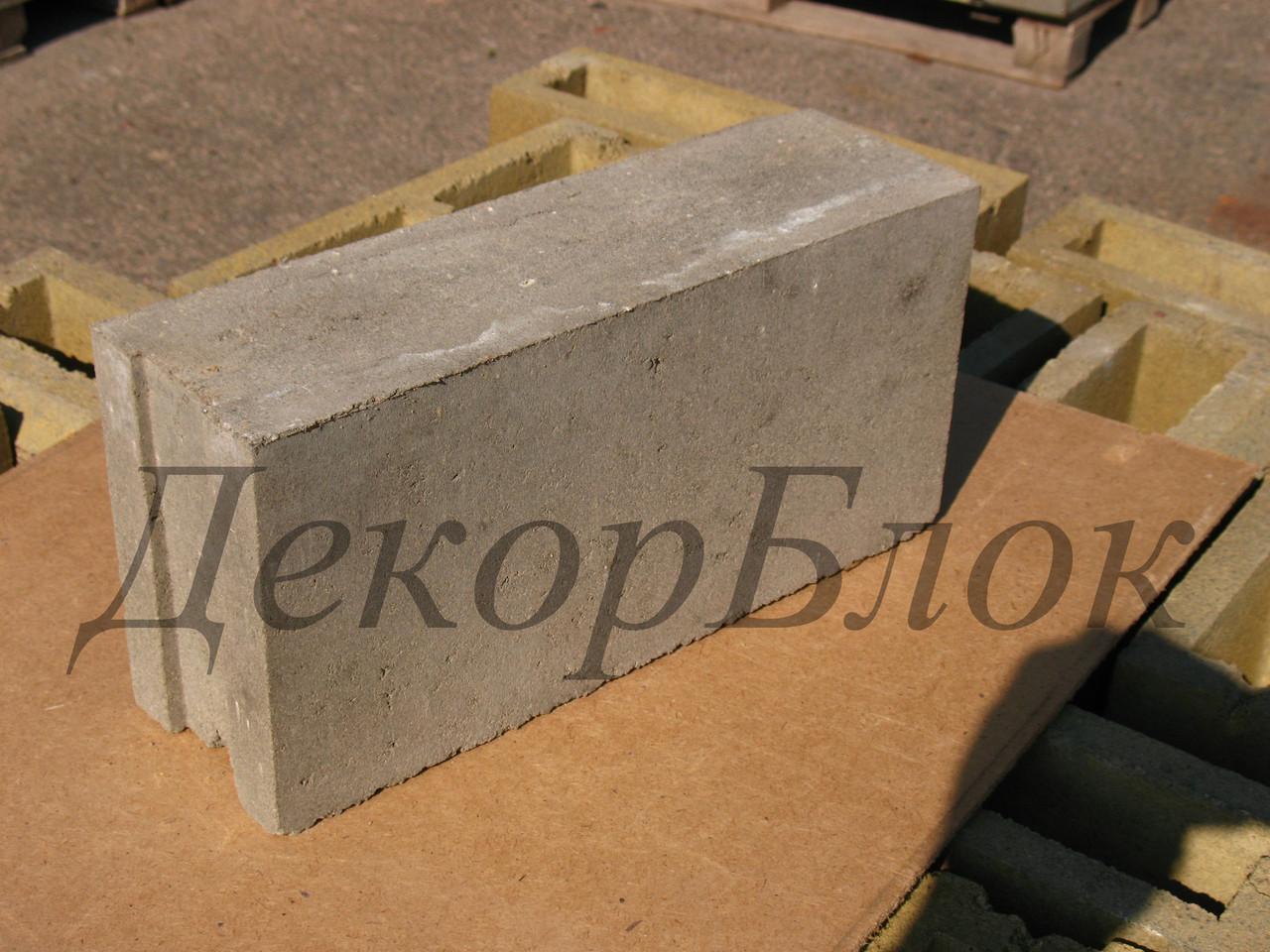 Блок бетонный 400х200х120  Т.п. полнотелый