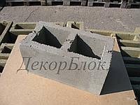 Блок бетонный 400х200х200  С2. стеновой, фото 1