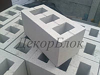 Блок бетонный 400х200х200  С3. стеновой, фото 1